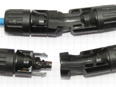 MC4 kompatible Stecker